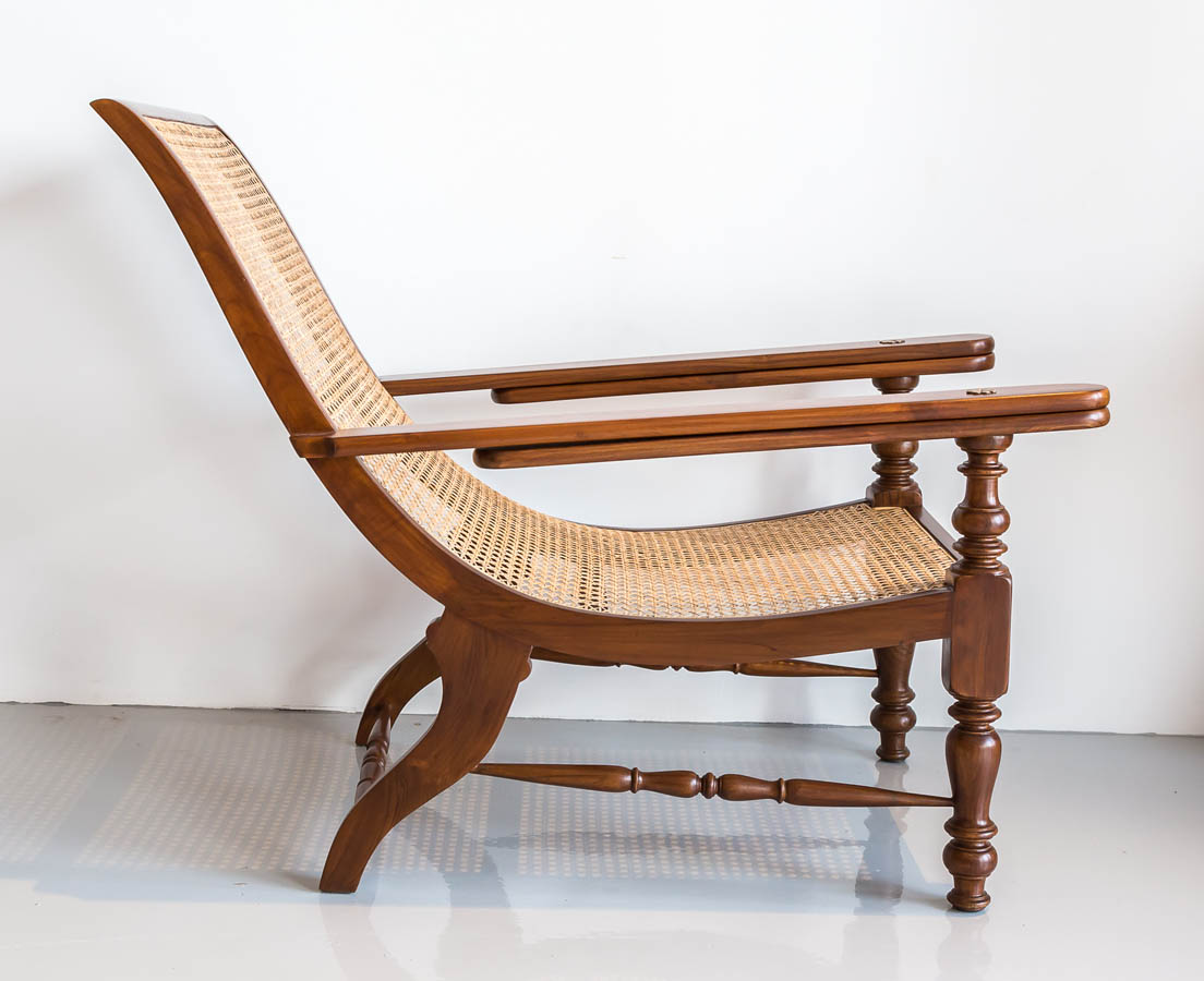 CHA-201 3L British colonial teakwood planter's chair l The Past Perfect Collection l Singapore