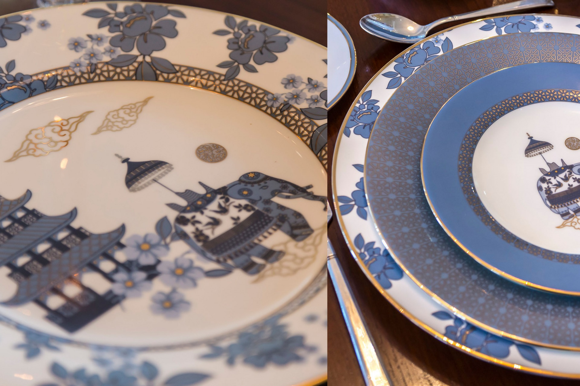 Indechine Dinnerware Good Earth l The Past Perfect Collection l Singapore
