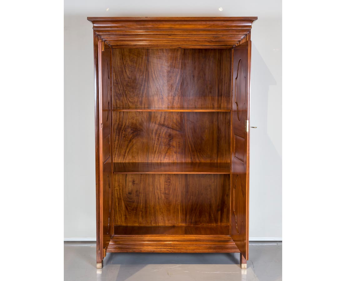 CUP-360 4L Antique Dutch Colonial Satinwood Cupboard l The Past Perfect Collection l Singapore