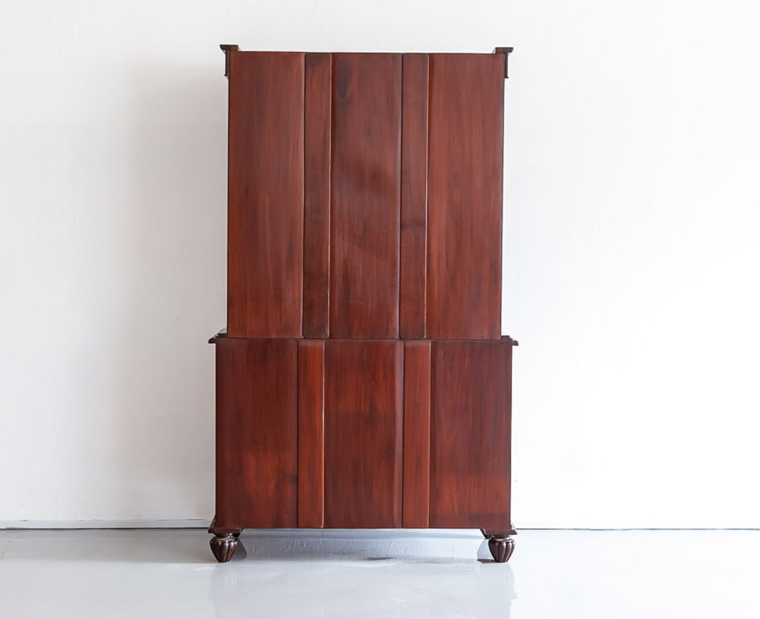 CUP-447 10L Anglo-Indian Rosewood Linen Press l The Past Perfect Collection l Singapore