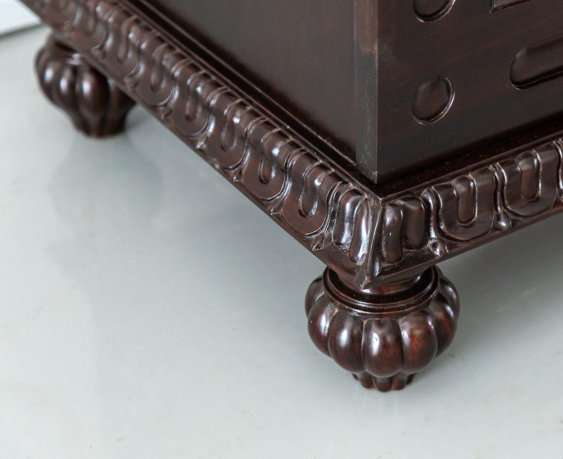 Anglo-Indian Rosewood Sideboard with Sunburst l The Past Perfect Collection l Singapore