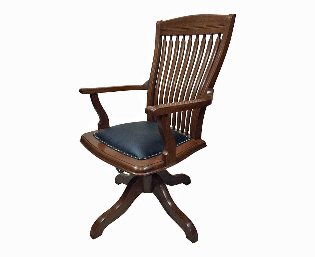 CHA-239 2L Anglo-Indian Teakwood Desk Chair l The Past Perfect Collection l Singapore