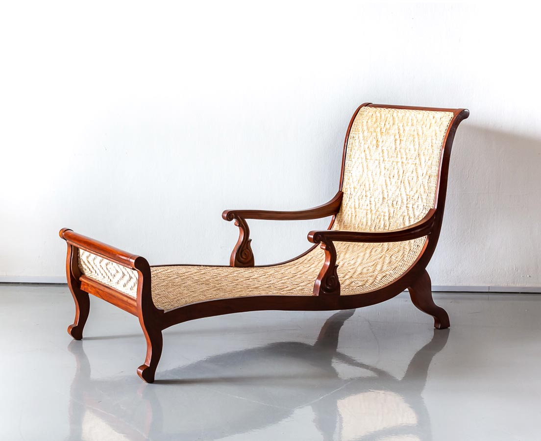 CHA-247 1L Anglo-Indian Teakwood Easy Chair l The Past Perfect Collection l Singapore