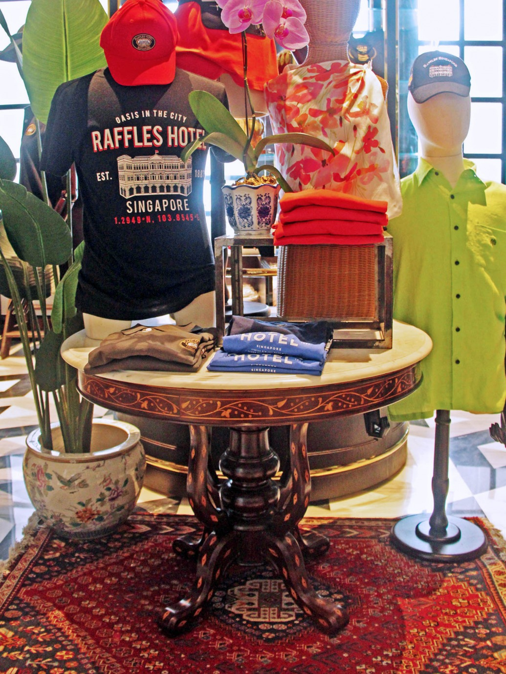 Proud Associate of Raffles Hotel - Raffles Boutique l The Past Perfect Collection l Singapore