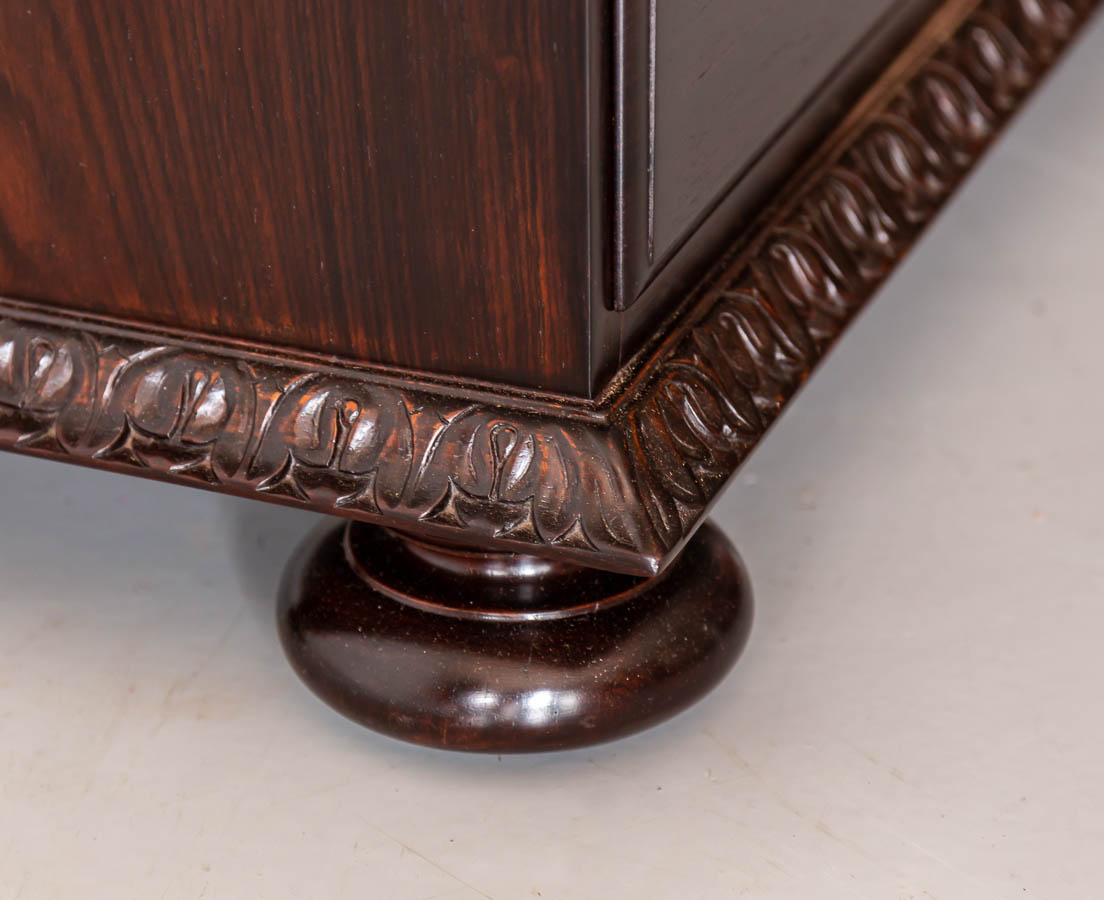 Antique Cupboards - British Colonial Rosewood Secretaire Chest of Drawers - The Past Perfect Collection l Singapore CUP-501 12L