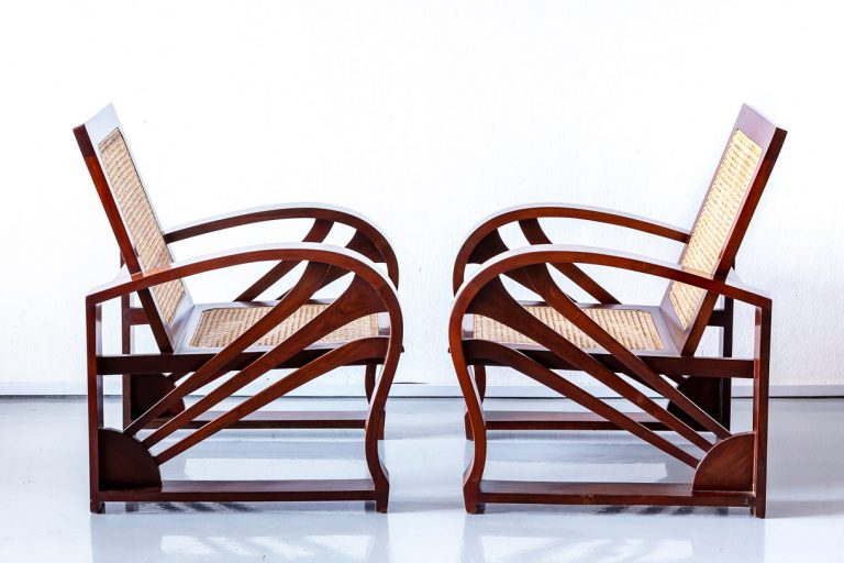 Art Deco Furniture - Sofa and Chair Set - The Past Perfect Collection - Singapore